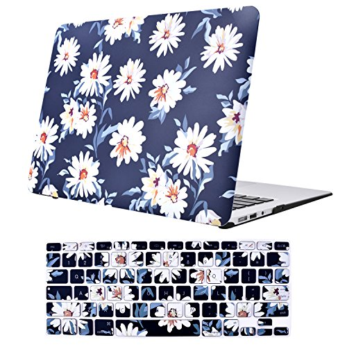 MacBook Air 13 inch Case, TeenGrow Plastic Hard Protective Smooth MacBook Shell Case Keyboard Cover MacBook Air 13'' (Model:A1369 A1466) by EGONE