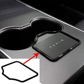 BougeRV for Tesla Model 3 Center Console Key Card Holder Prevent The Key Card from Slipping