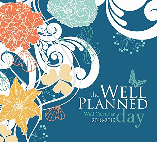 Well Planned Day Wall Calendar, July 2018 - June 2019