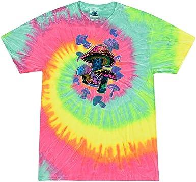 Helen vi Flying Mushrooms Retro LSD Shrooms Tie Dye ...