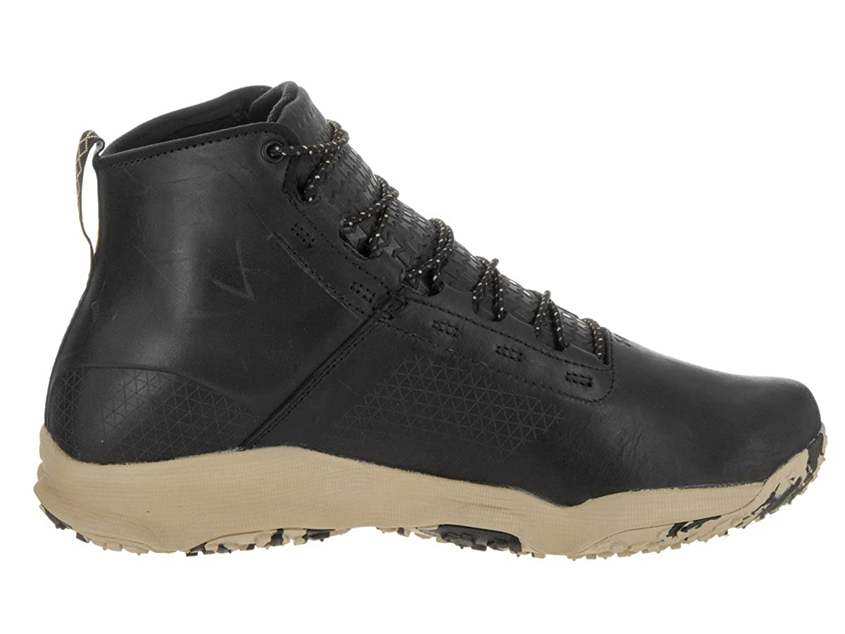 Under Armour Mens Ua Speedfit Hike Leather Boots Hearthstone