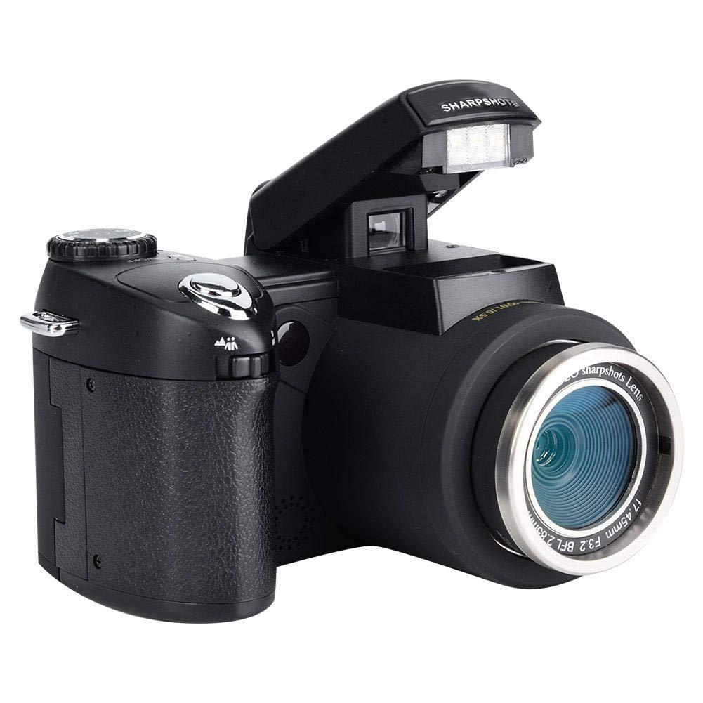 Taidda Cámara Digital DSLR, cámara de videocámara HD Enfoque ...