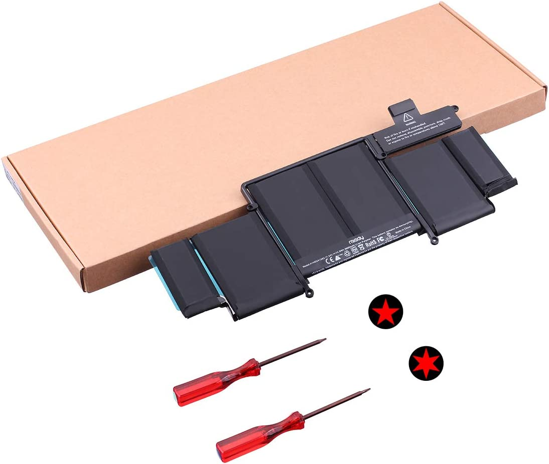 A1493 A1582 New Replacement Battery Compatible with MacBook Pro Retina 13 Inch A1502 (Late 2013 Mid 2014 Early 2015) EMC 2678 2875 2835 ME864 ME865 ME866 MGX72