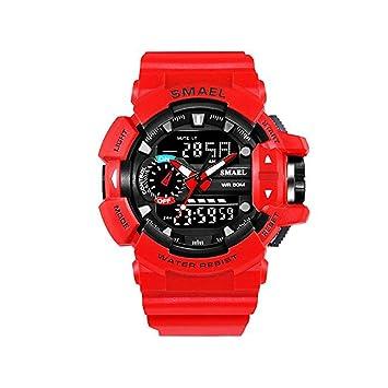 SMAEL serie 2018 Relogio Masculino deporte Casual relojes LED Digital militares relojes hombres reloj FECHA 1436