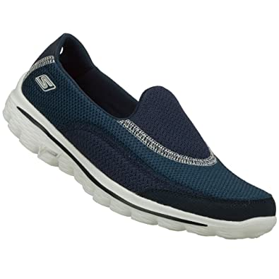 a6e8ef8a55aba Skechers Ladies Women Go Walk 2.Womens Slip On Trainer Six Colour Choice  Size 3
