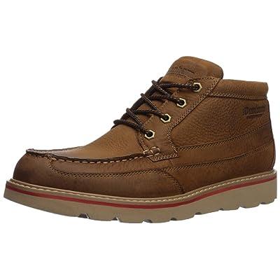 Dunham Men's Colt Moc Boot Chukka, TAN LEA, 10 X-Wide: Shoes