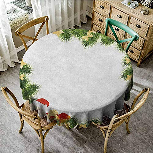 Rank-T Round Tablecloth Natural 40