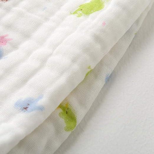 WYQ Toallas de baño Blancas para bebés, Toallas de algodón Suave con Capucha para niños pequeños, Unisex Newborns Toallas pequeñas con Capucha de 90 × 90 cm ...