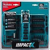 Makita A-98332 40 Pc Impactx Driver Bit Set