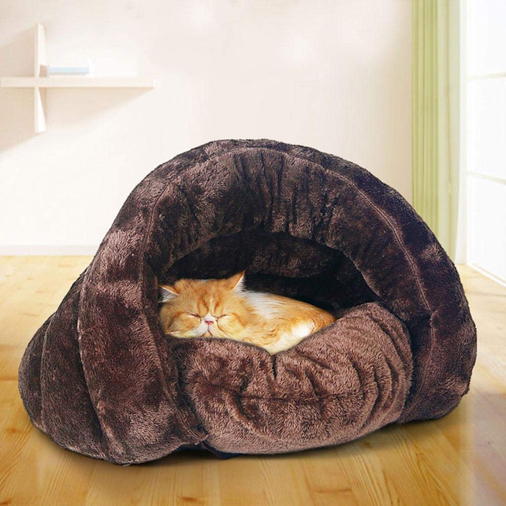 Cama del Animal Doméstico Casa Iglú cesta Cama cueva perros Gatos Gatitos Cachorros Cama Caliente aislado