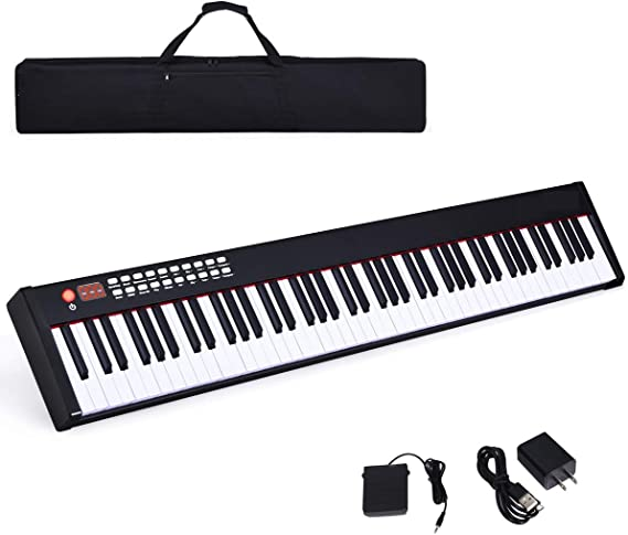 Costzon BX-II 88-Key Portable Touch Sensitive Digital Piano
