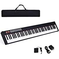 Costzon BX-II 88-Key Portable Touch Sensitive Digital Piano, Upgraded Electric Keyboard with MIDI/USB Keyboard…