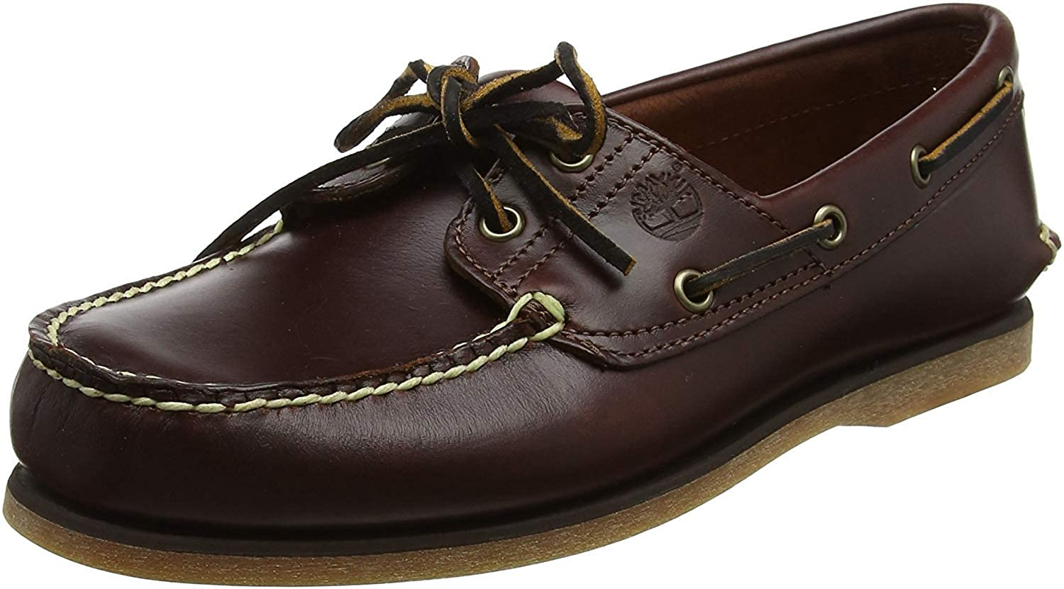Timberland Classic Boat 2 Eyerubber Chaos W/Croissant Mystic, Náuticos para Hombre