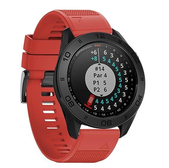 Amazon.com: For Garmin Approach S60 Smartwatch,Fullfun Soft ...