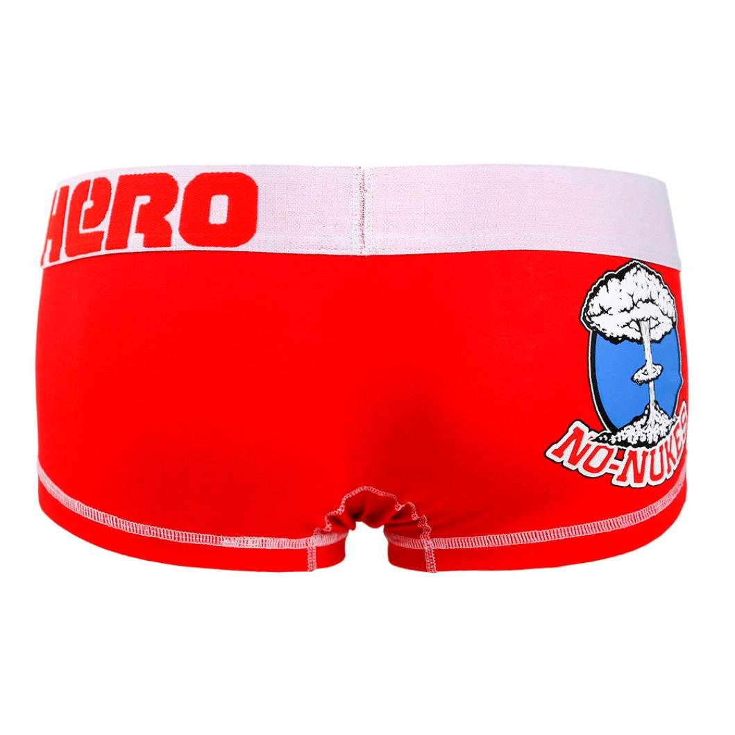 Mens Underwear, Wintialy Pink Heroes Mens Pouch Boxer Underpants Knickers Briefs Shorts