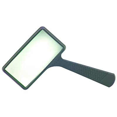 Harbor Freight Rectangle Magnifying Glass, Black (37708): Office Products [5Bkhe1103490]