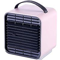 Chakwan Portable Refroidisseur d'air Climatiseur Mobile Air Cooler 4en1 Ventilateur Climatiseur Humidificateur Purificateur d'air Multifonction, 3 Fichiers, avec Veilleuse, pour Maison/Bureau/Camping