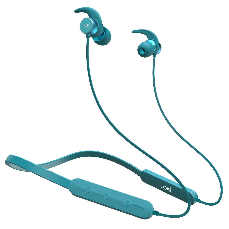 boAt Rockerz 255 Pro in-Ear Bluetooth Neckband Earphone with Mic - Best Boat Earbuds