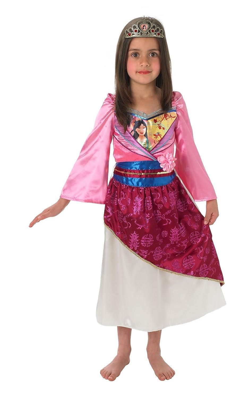 Rubies - Disfraz de Mulán brillante infantil (889217-L): Amazon.es ...