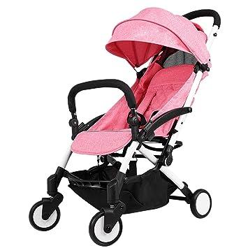 Amazon.es: Carro de bebé ligero El cochecito de bebé, plegable ...