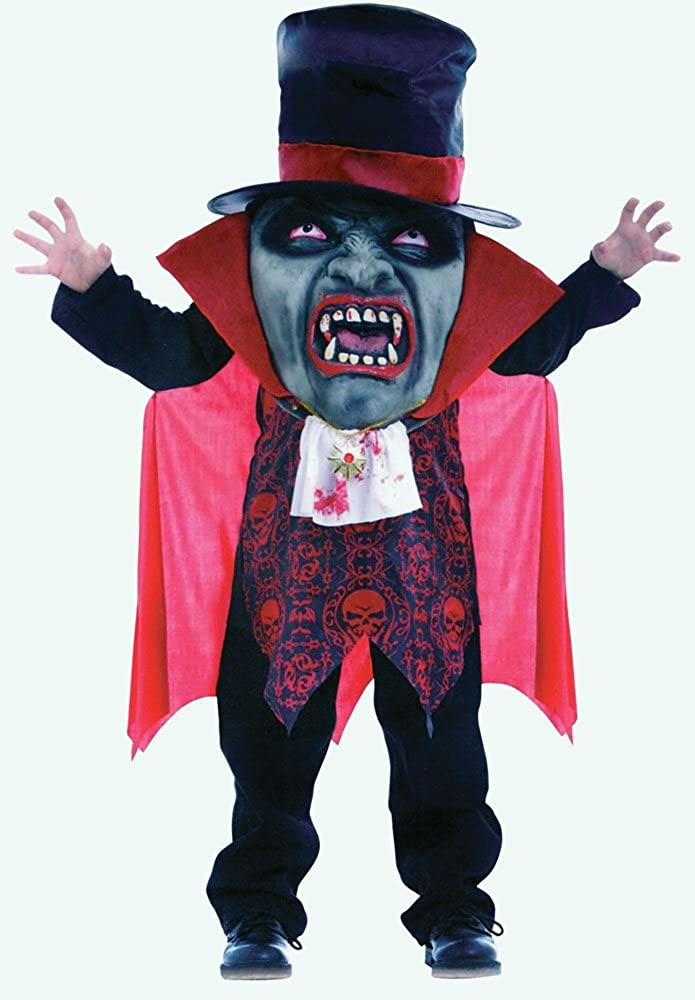 Amazon Com Fna Fashions Vampire Mad Hatter Child Costume Childrens Kids Fancy Dress Outfit Clothing