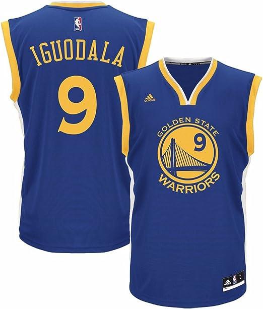 Amazon.com : Adidas Mens Andre Iguodala Golden State Warriors Away ...