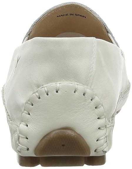 Pikolinos JEREZ 578-10 - Zapatillas de casa de cuero mujer, color blanco, talla 41
