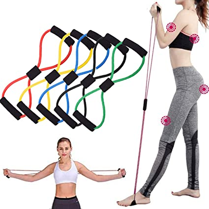 Gym Elastic Latex Band Pilates Tube Pull Rope Fitness Yoga Sports Equipment 1