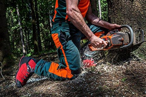 Haix 603.109 Beskytter Ultra Komfortabel Skovbrug Signal Rød Beskyttende Støvler SignalRød 8L68w