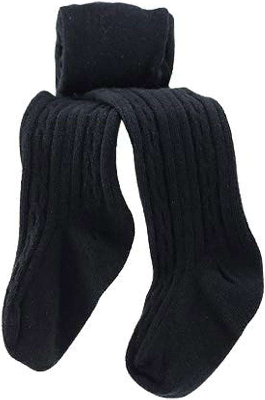 LANBAOSI Cute Baby Girls Knit Tights Infant Leggings Newborn Footed Stocking Pants: Clothing