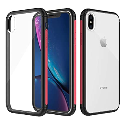 Amazon.com: Funda para iPhone Xs Max, funda híbrida ...
