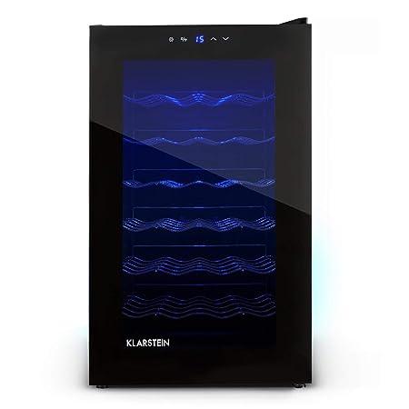 Klarstein MKS-2 • Nevera para vinos • Nevera para bebidas • 70 ...