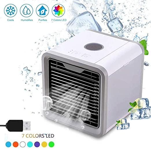 Ventilador del enfriador de aire, mini ventilador personal ...
