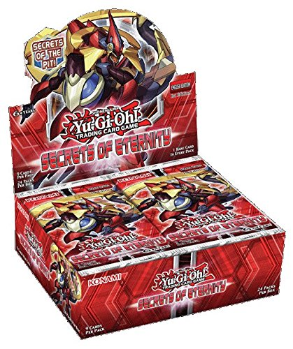 Yu-Gi-Oh! Secrets of Eternity Booster - Gi Oh Yu Box Edition Booster