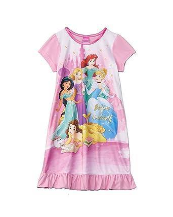 Amazon.com  Disney Princess Girls  Believe In Yourself Nightgown ... 8d318b5f6