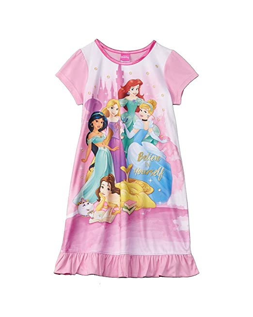 Disney Princess Believe Girl/'s Pyjamas
