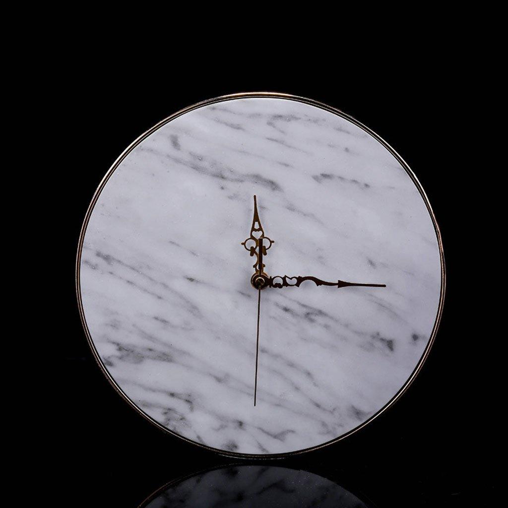 ヨーロッパスタイルの樹脂製の壁時計クリエイティブホームデコレーションスーペリアホテルクラブハウスリビングルームの壁装飾 B07CPNW2K2