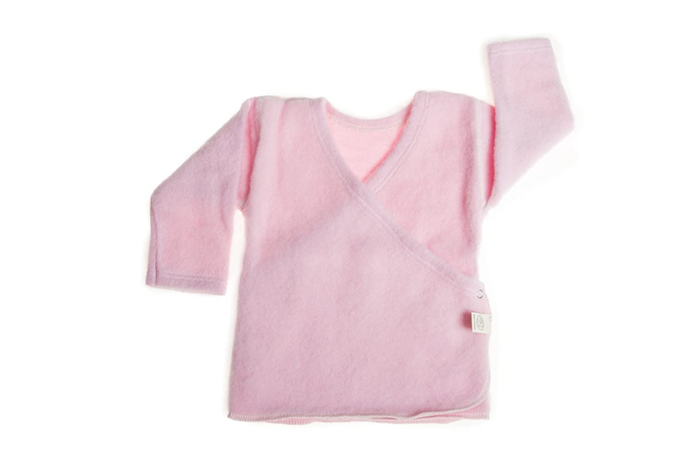 LANACARE Organic Wool Baby Sweater, Light Blue, size 50 (0-3 mo) UAB LNA