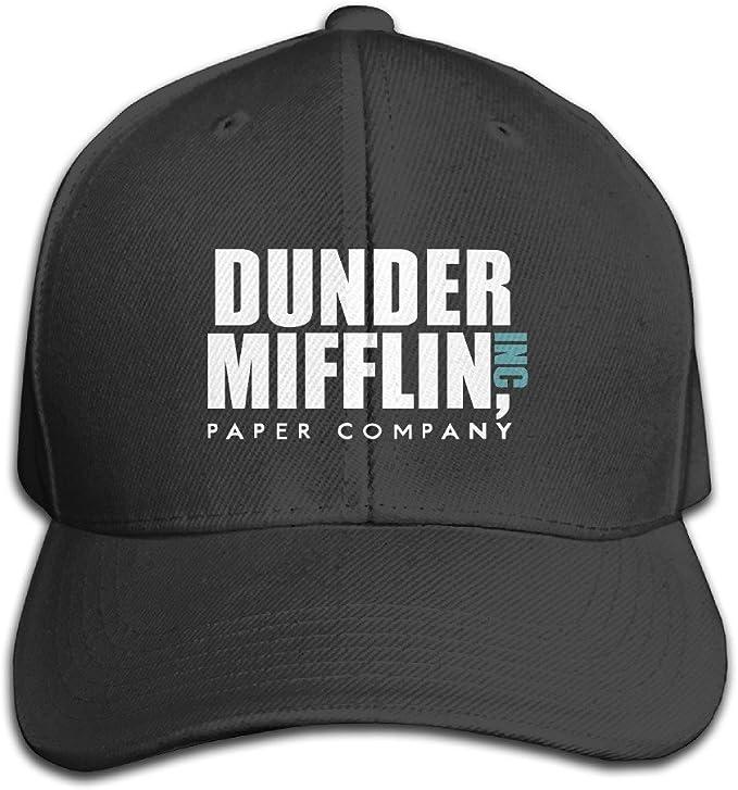 GPOPA algodón Dunder Mifflin Inc sólido Gorra/Snapback Sombreros ...
