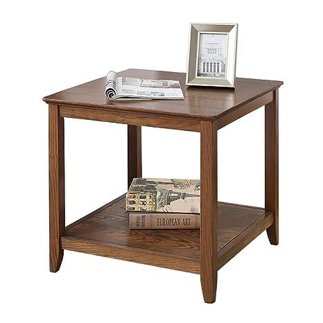 Amazon.com: Mesa auxiliar para sofá o mesita de noche ...