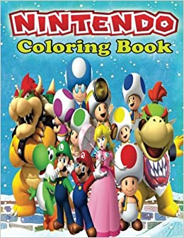 Nintendo Coloring Book Creative For Kids Magical 9781542899116 Amazon Books