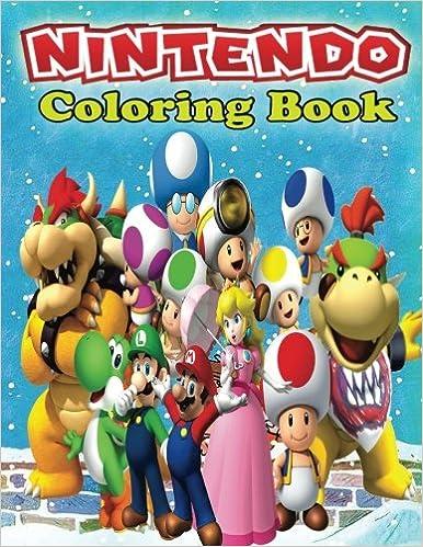 Nintendo Coloring Book: Nintendo Creative Coloring Book (Coloring ...