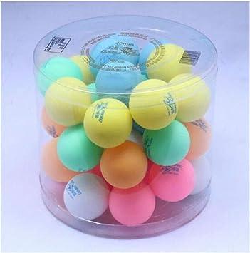 XSWY Tabla Pelotas de Tenis, 3 Estrellas Nuevo Material 40+ Color ...