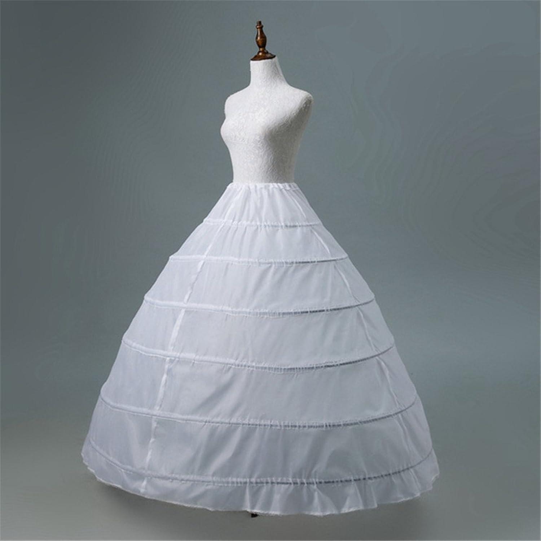 Aimeely Women Lady Fluffy Wedding Petticoat Formal Maxi Tutu Skirt ...
