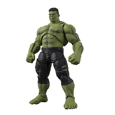 "Tamashii Nations S.H.Figuarts Hulk (Avengers: Infinity War) ""Avengers: Infinity War"" Action Figure: Toys & Games"