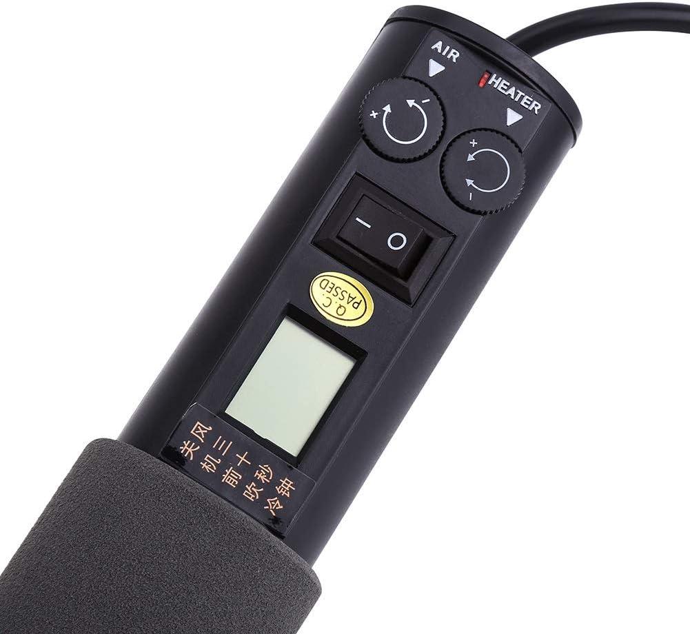 220V 450W LCD Pistolet à Air Chaud ElectriqueThermique Soudure Soudage IC FR