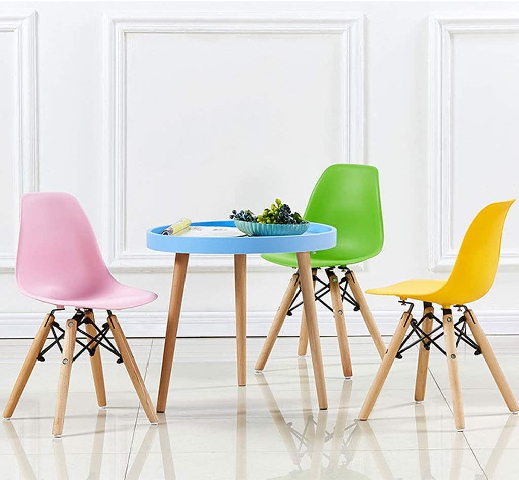 Round End Table Table Livres Snack Café Table À Manger Table Moden Simple Salon Chambre Livres Table Home Decor (Color : Pink) Blue