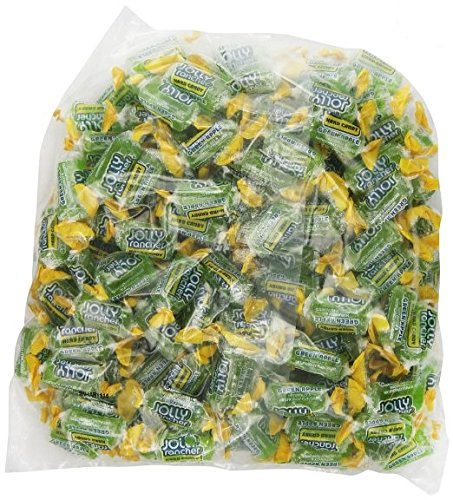 Apple Jolly Rancher (Jolly Rancher Green Apple Hard Candy, Fat Free (Pack of 2 Pounds))