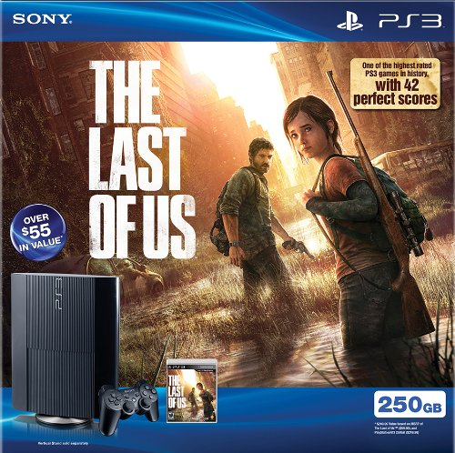 (PS3 250GB The Last of Us Bundle)