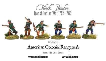 Warlord Games, American Colonial Rangers, Black Powder Wargaming Miniatures